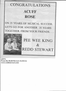 (1977) Redd Stewart & Pee Wee King