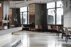 Restaurant interior, part of hotel