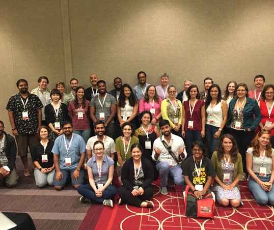 Diversity lunch at the International Society for Behavioral Ecology meeting, Minneapolis, Minnesota