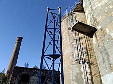 hauteur,travail,toiture,pylône,télécom,a