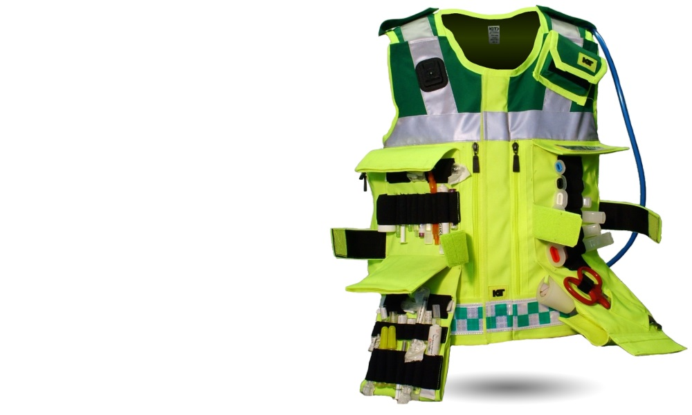 Medics equipment vest
