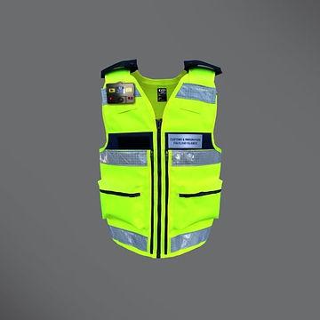 Security Equipment Vest Hi-Viz 600 x 600
