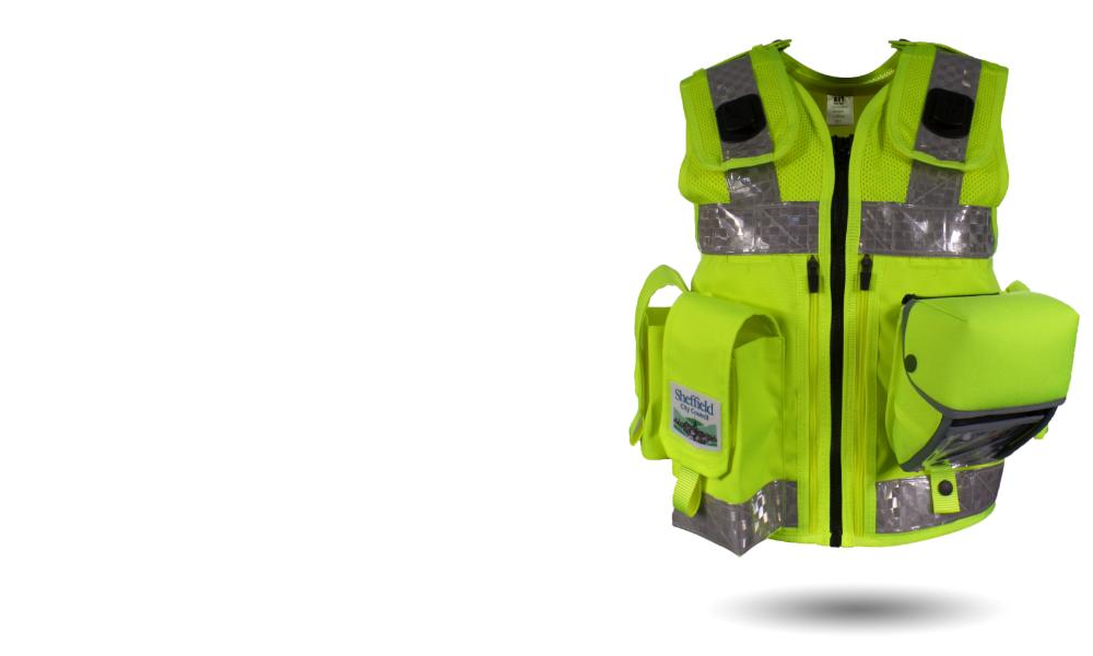 Parking Enforcement vest KEV0054