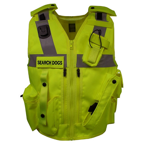 Search Dogs Section Equipment Vest Police and Prison