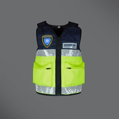 Shomrim medic equipment vest