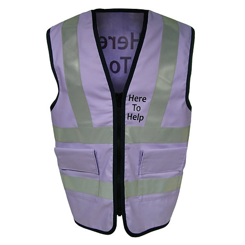 Reflective Tabard Work Vest