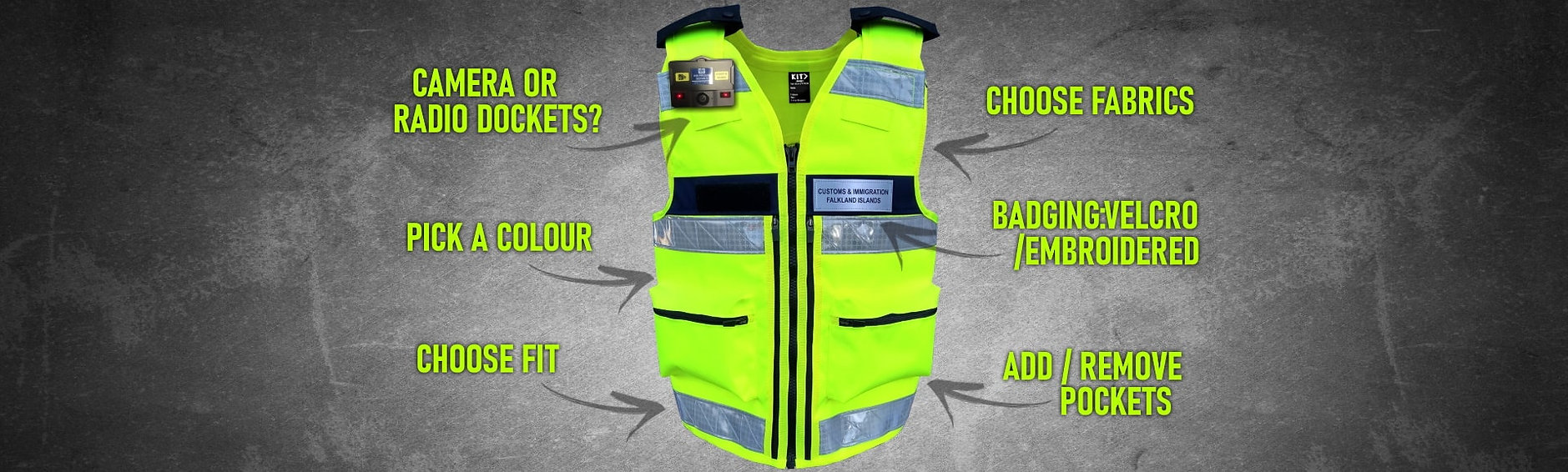 Security Guard and Prison Equipment Vest