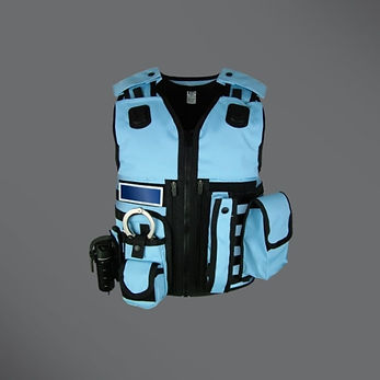 Police Equipment Vest Blue