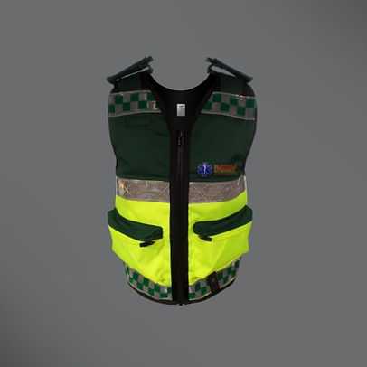 Hatzola equipment vest