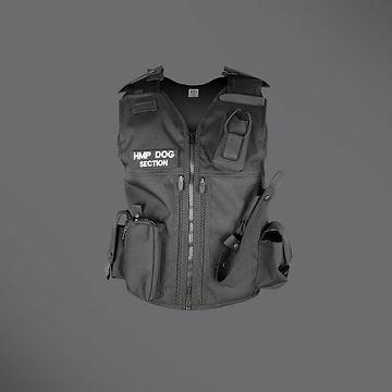 Dog section equipment vest