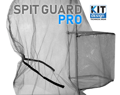 Spit guard pro protection ppe from spitting for police
