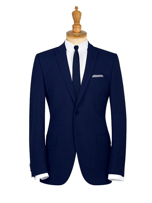 Derby College Mens Suit Jacket Navy