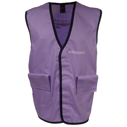 Purple Tabard Work Vest
