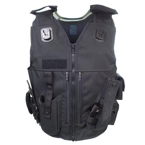 Black Tac Vest for Police Tactical