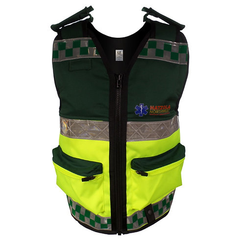 Medics Equipment Vest with Hi-Viz Reflective Tape