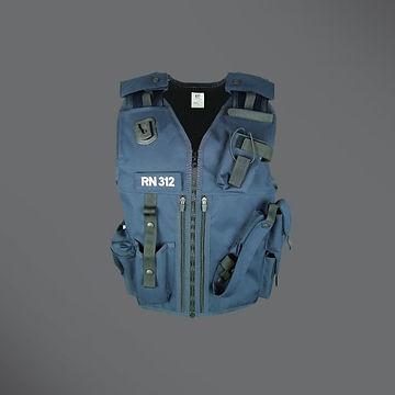 Prison security equipment vest