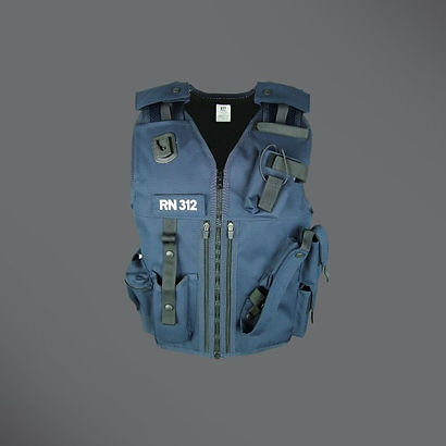 Prison security equipment vest