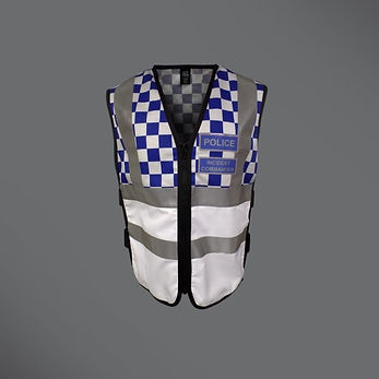 Police Incident Commander Tabard 600 x 6