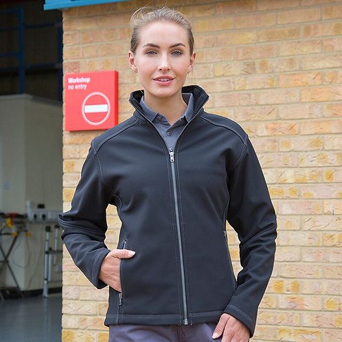 Women's Softshell Jacket Treble Stitch R455F
