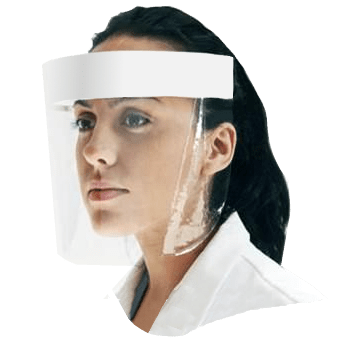 face visor ppe uk made anti-virus face cover mask