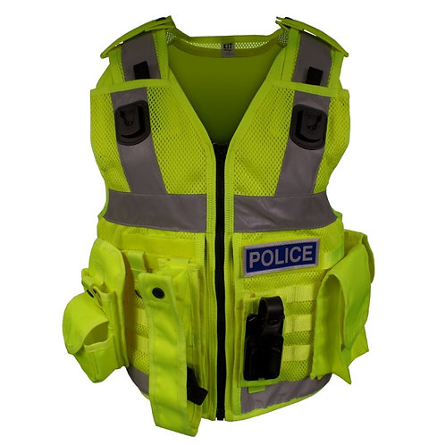 Police Hi-Vis Equipment Vest