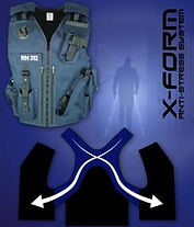 Equipment Vests for Prison and Security.