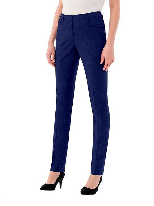 Derby College Ladies Suit Trousers Navy