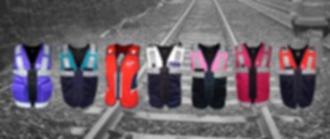 Rail Equipment Vests by Kit Design