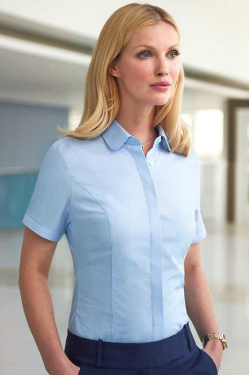 Soave Semi-Fitted Short Sleeve Blouse Ladies