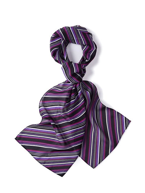 Derby College Lilac and Fuchsia Ladies Scarf