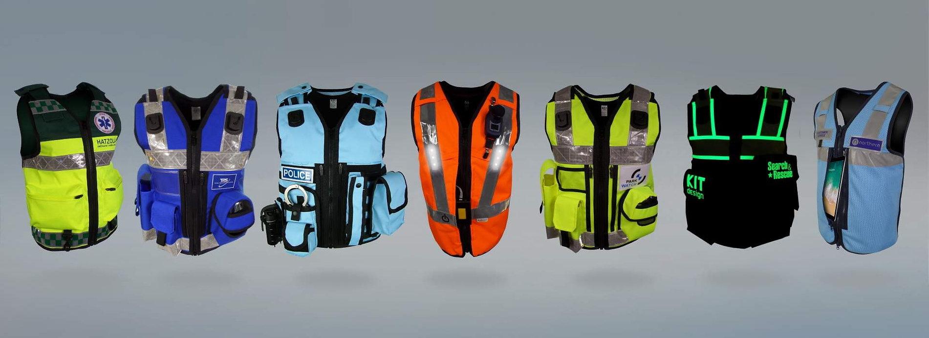 KIT Design Equipment Vests Wide Image JP