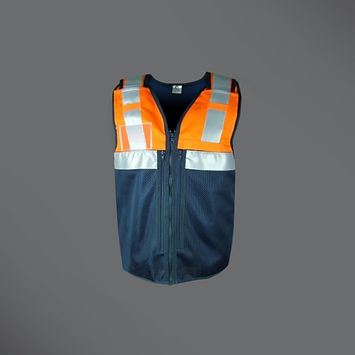Rail equipment vest