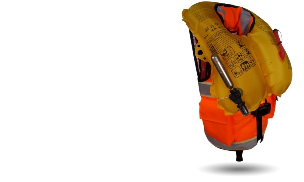 All new 150N Inflatable Life Vest