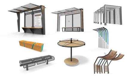 환경 시설물 디자인