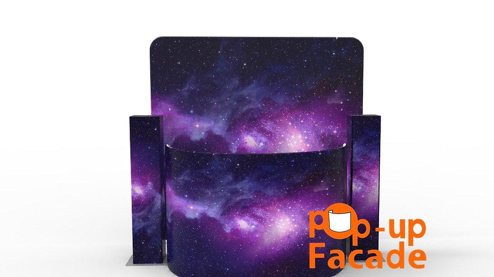 Purple Galaxy Pop Up Facade Full Set