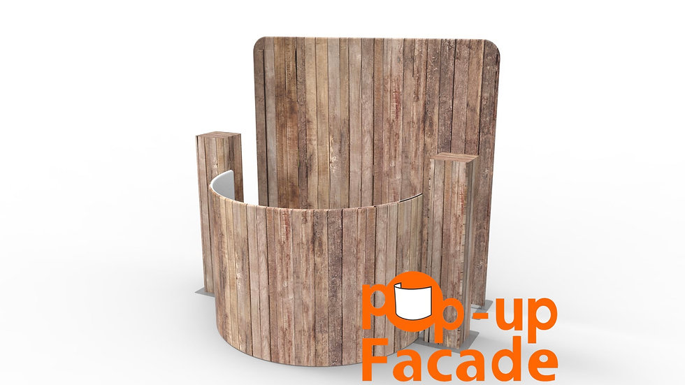 Vertical Wood Pop Up Full Set