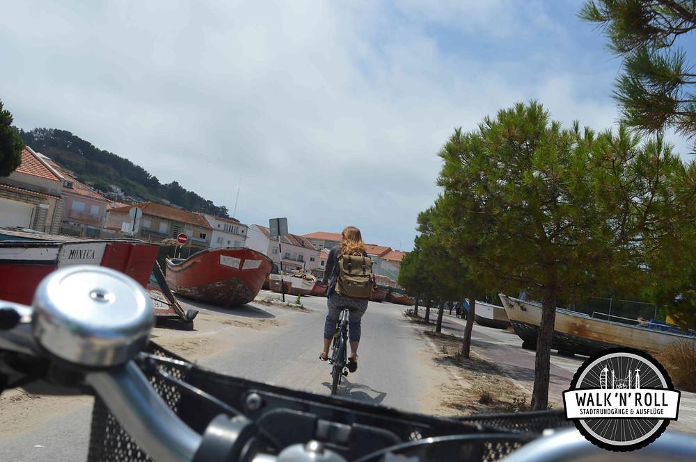 Fahrradtour mit WALK 'N' ROLL