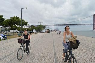 Fahrradtour in Lissabon