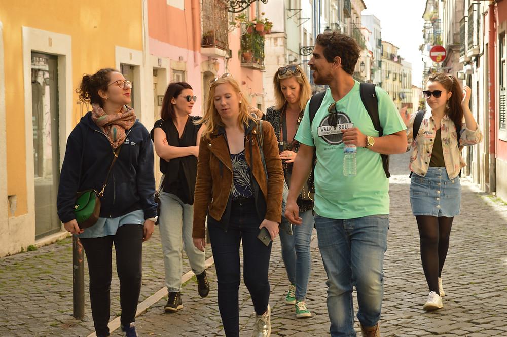 Stadtführung  im Lissabonner Bairro Alto