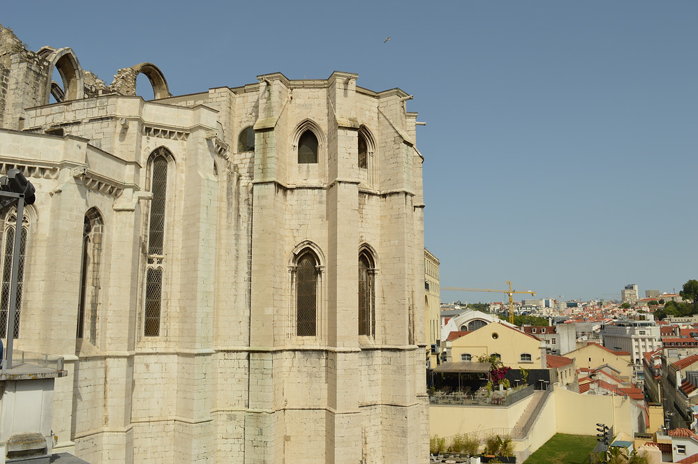 Klosterruine in Lissabon (Convento do Carmo)