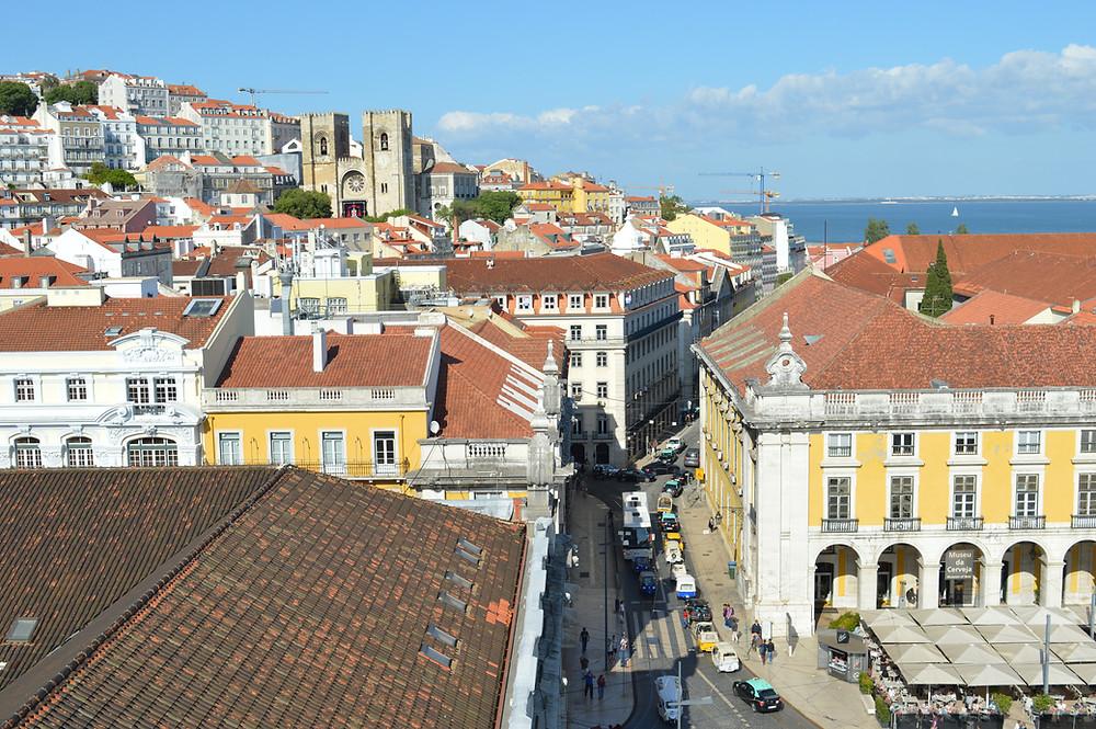 Lissabon Baixa und Alfama