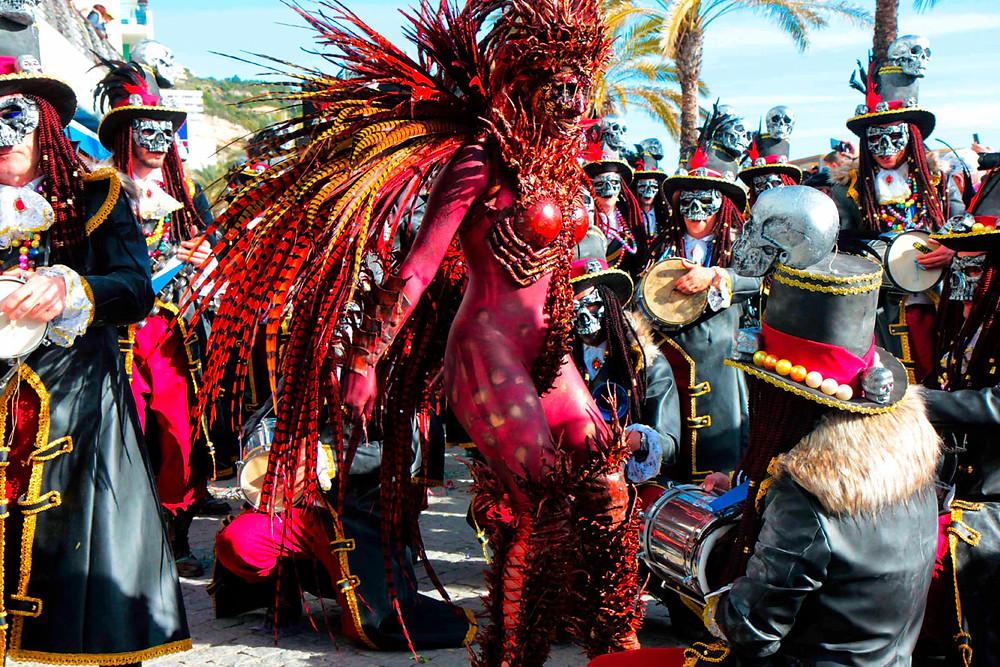 Karneval in Sesimbra