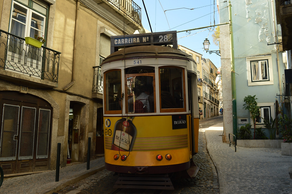 Lissabon Straßenbahn 28