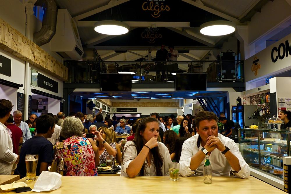 Markthalle Algês nahe Lissabon