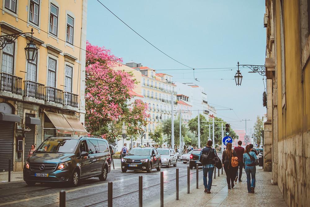 Lissabon Altstadt