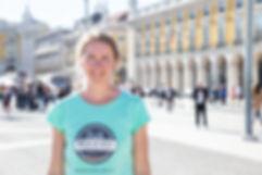 Sara, German tour guide in Lisbon