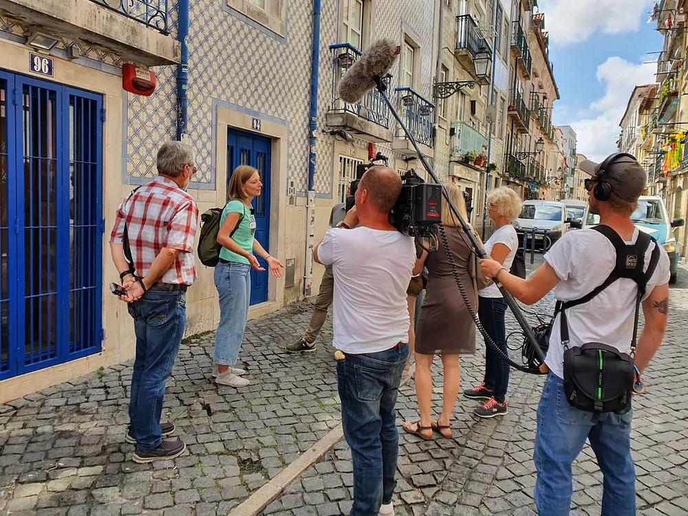 Stadtführerin in Lissabon bei hallo deutschland