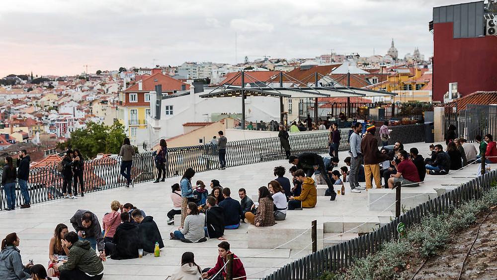 Miradouro Adamastor Lisbon