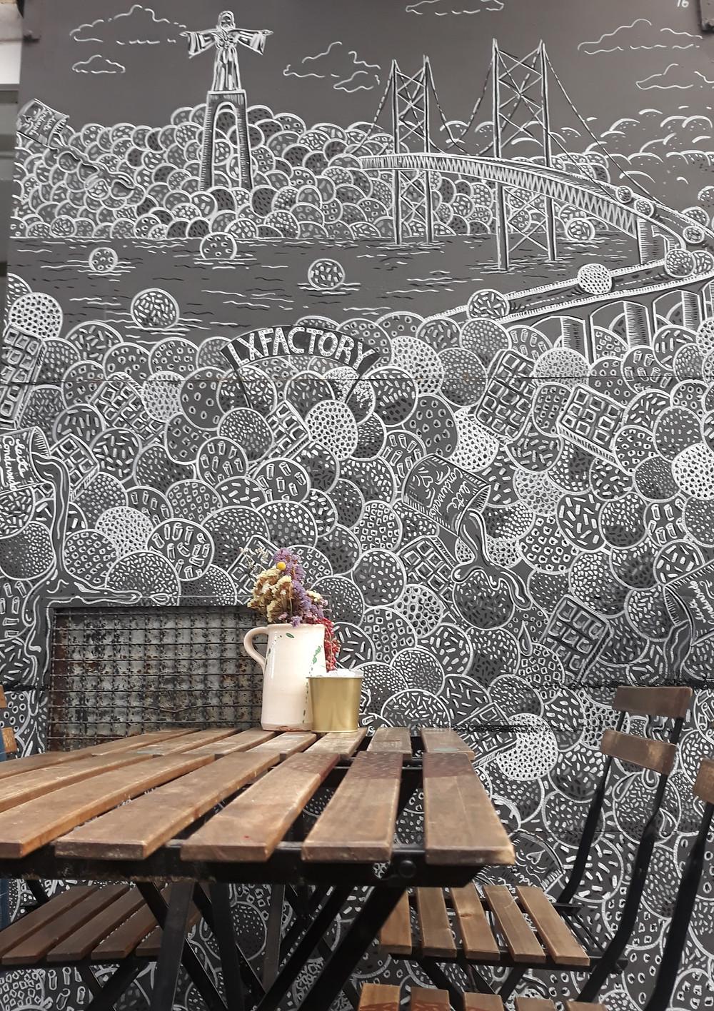 Café LX Factory Lissabon