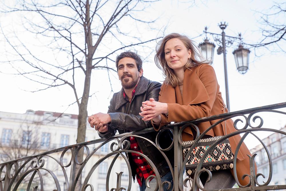 Pedro und Melina in Lissabon